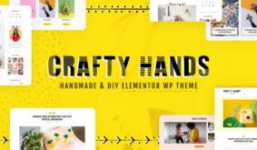 Crafty Hands – Arts & Workshop WordPress Theme