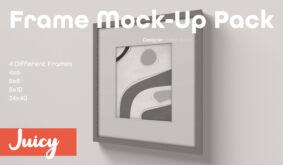 Frame Mock-Up Pack