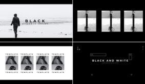 Black White Intro Show