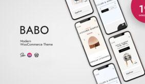 Babo – Modern & Flexible WooCommerce Theme