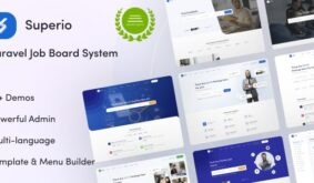 Superio – Laravel Job Board System