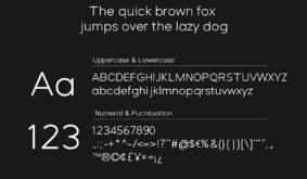 Forzan – Sans Serif