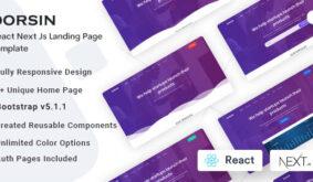Dorsin – React Next Js Landing Page Template