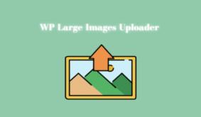 WordPress Large Images Uploader