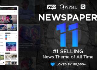 Newspaper – News & WooCommerce WordPress Theme