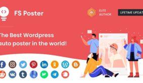 FS Poster – WordPress Social Auto Poster & Post Scheduler
