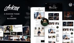 Aubrey – An Elegant WordPress Blog For Fashion Enthusiasts