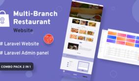 Multi-Branch Restaurant – Laravel Website with Admin Panel