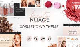 Nuage – Cosmetics & Beauty WordPress Theme