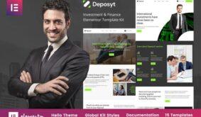 Deposyt – Investment & Finance Elementor Template Kit