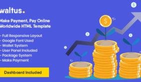 Waltus – Send Money, Receive Online Payment Template