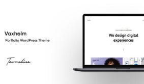 Vaxholm – Creative WordPress Theme