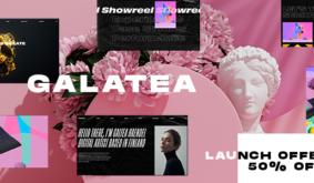 Galatea – Creative Portfolio WordPress Theme