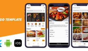 Foodie – Flutter Food Ordering Template