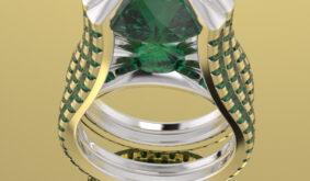 MUNDUSJOIAS RING LOVE DIAMONDS COLLECTION