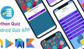 Python Quiz – Android Quiz App Using Kotlin