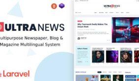 UltraNews – Laravel Newspaper, Blog and Magazine Multilingual System