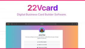 22Vcard – Digital Business Card Builder (SAAS)