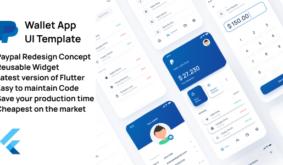 Wallet App UI Template – Flutter