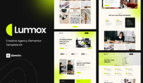 Lummox – Creative Agency Elementor Template Kit