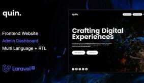 Quin – Multipurpose Website CMS & Creative Agency Management System