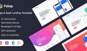 Pakap – App & SaaS Landing Template