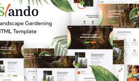 Slando – Landscape Gardening HTML Template