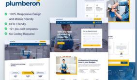 Plumberon – Plumbing Service Elementor Template Kit