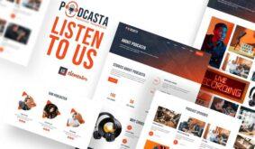 Podcasta – Podcast & Streaming Elementor Template Kit