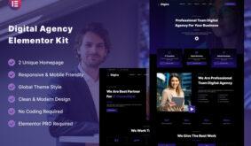 Digira – Digital Agency Services Elementor Template Kit