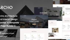Archo – Architecture & Interior Design Joomla 4 Template