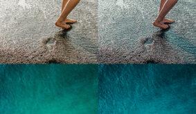 Surfing In Ocean Photoshop Action