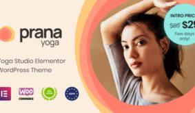Prana Yoga – Theme for Elementor