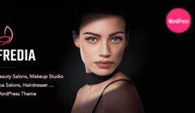 Fredia – Makeup Artist WordPress Theme