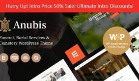 Anubis – Funeral & Burial Services WordPress Theme