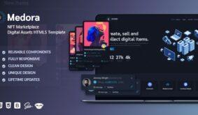Medora | NFT Marketplace Bootstrap Template