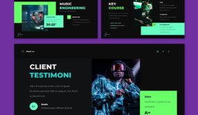 Vocafest – Music Promotion GoogleSlide Template