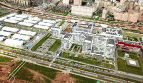 A Huge Modern Hospital for Coronavirus Patients