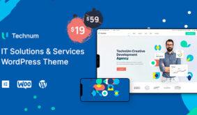 Technum   IT Solutions & Services WordPress Theme