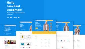 Goodman – Creative Portofolio Elementor Template Kit