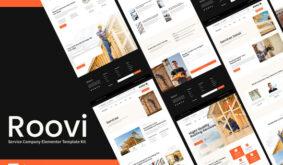 Roovi – Home Improvement Elementor Template Kit
