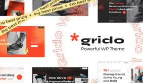 Grido – Creative Multipurpose WordPress Theme